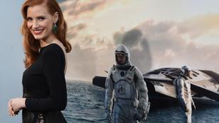 Jessica Chastain kiáll az egyenlő bánásmódért Hollywoodban