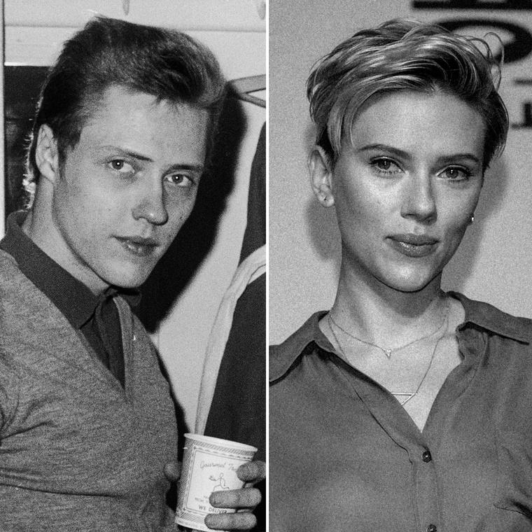 Csak a miheztartás végett: balra Christopher Walkent, jobbra pedig Scarlett Johanssont látja.