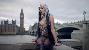 Terrorhelyszínen forgatta legújabb klipjét Nicki Minaj