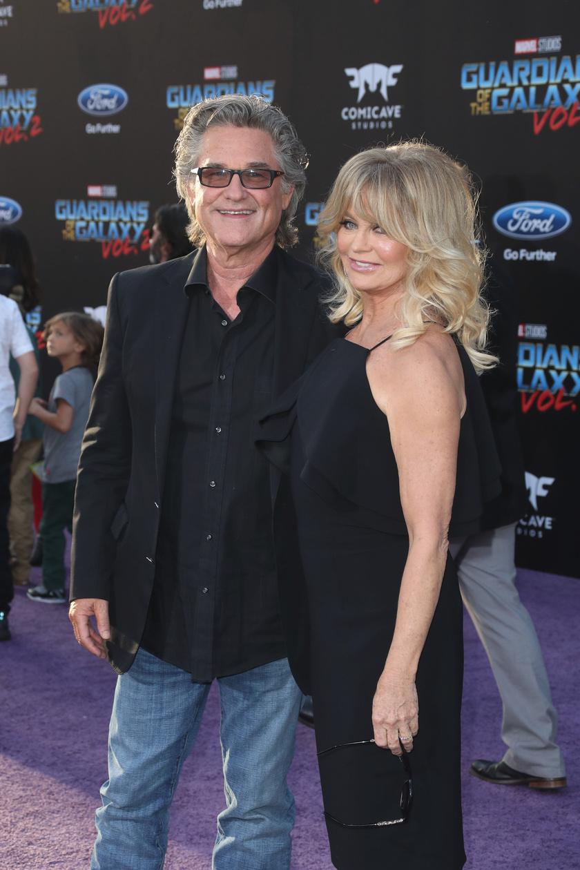 Papír nélkül is szeretik egymást: Goldie Hawn és Kurt Russell nem házasodtak össze, mégis nagyon boldogok.