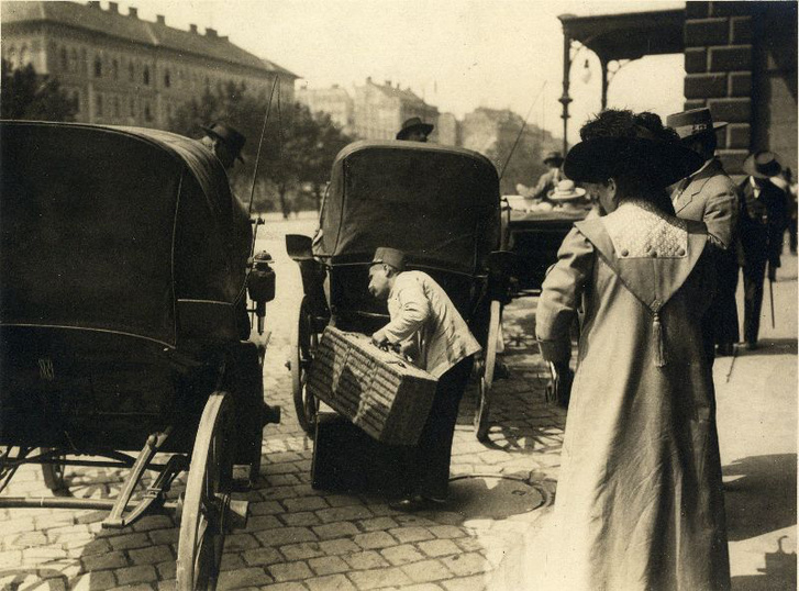 Keleti pályaudvar, 1910 körül