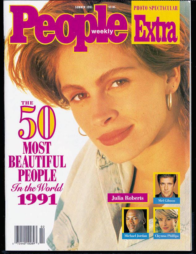 1991-ben azonban már sokkal idősebb, 23 éves volt, amikor először megnyerte a világ legszebb nője címét, amivel hirtelen a People magazin címlapjára is került