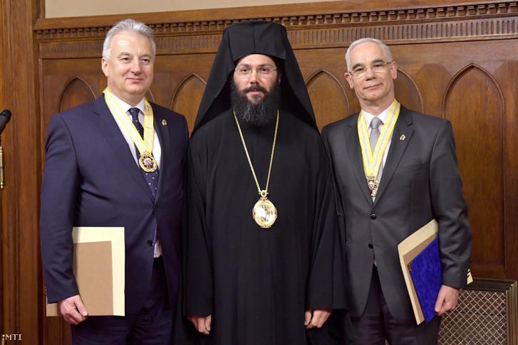 Semjén Zsolt, Arszeniosz Kardamakisz és Balog Zoltán