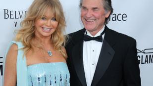 Rendőrök tették tönkre Goldie Hawn és Kurt Russell első közös szexét