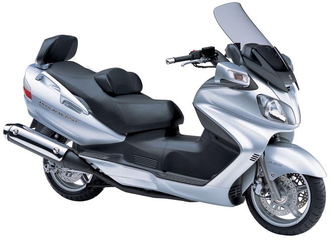 suzuki an 650 burgman executive scooter pictures 2