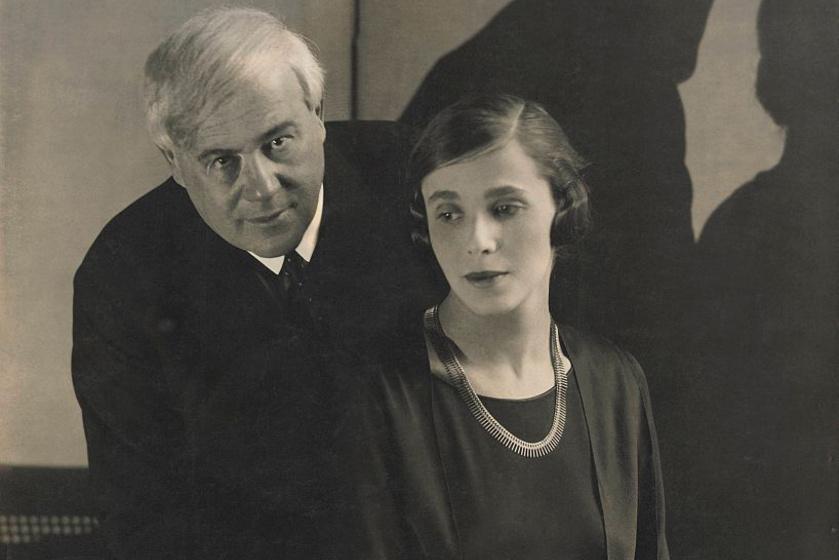 Darvas Lili és Molnár Ferenc 1928-ban