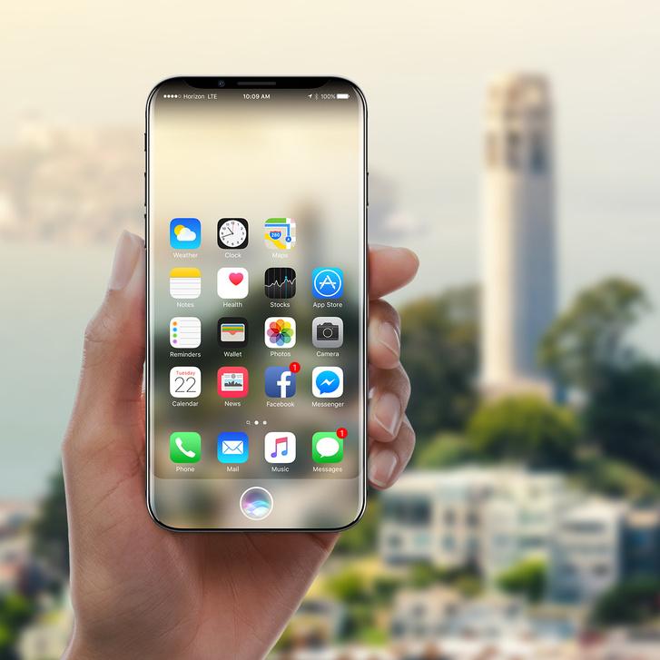 Balogh Gábor dizájner elképzelése szerint így nézhet majd ki az új iPhone