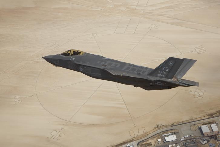 A kritikák központjában a Lockheed martin F-35-öse