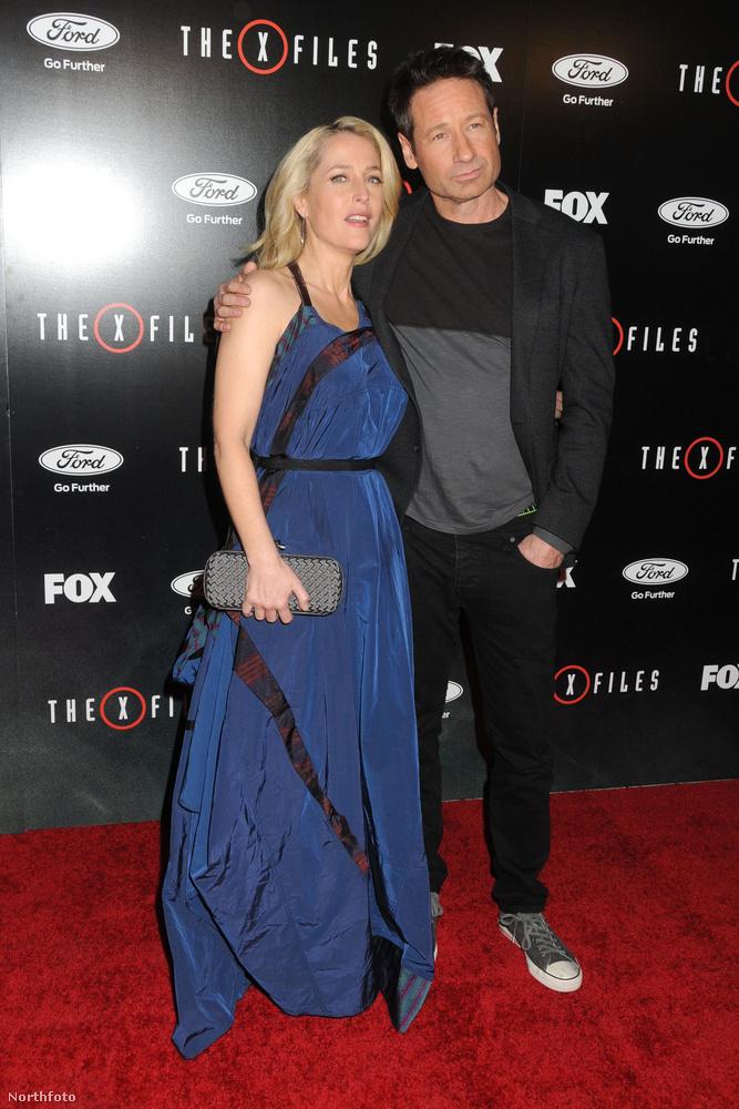 Gillian Anderson és David DuchovnyNem tűntek el a sikersorozat pihentetése után sem