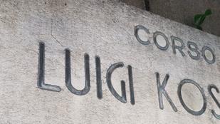 Egy híres magyar Luigiről van elnevezve egy torinói utca