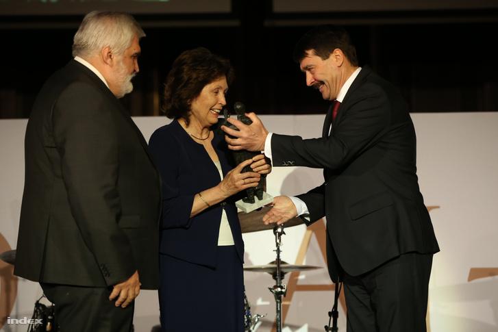 Áder János adta át a Bolyai-díjat