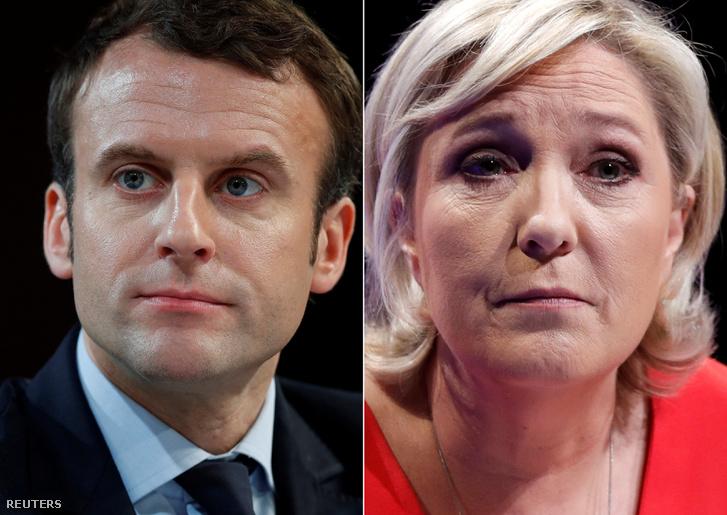 Macron és Le Pen