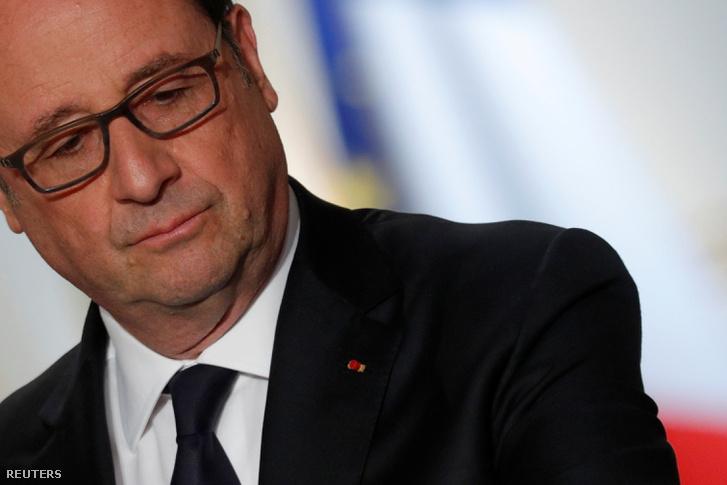 Hollande népszerűtlen elnökként búcsúzik