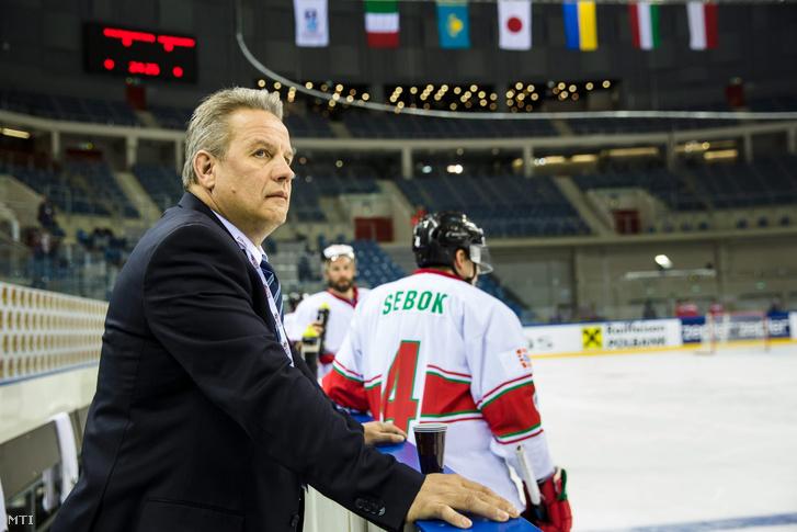 Rich Chernomaz a magyar jégkorong-válogatott kanadai szövetségi kapitánya