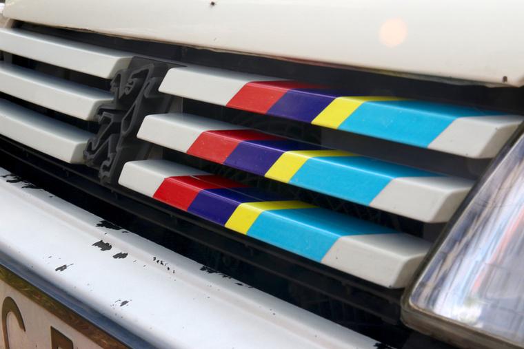 A Peugeot Sport színei