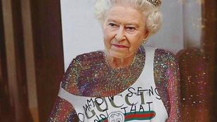 Rihanna és Erzsébet királynő keverékétől felrobbant az Instagram