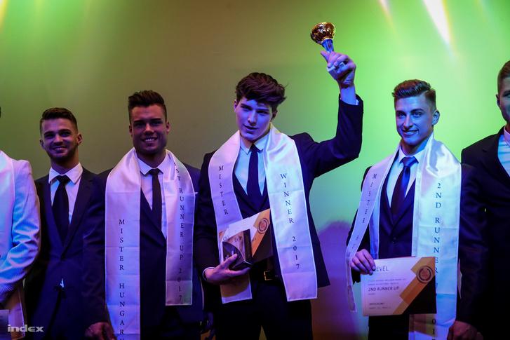 A győztes: a 19 éves Varga András.