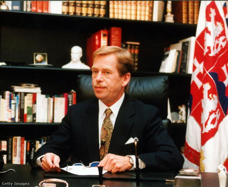 Václav Havel 1992-ben