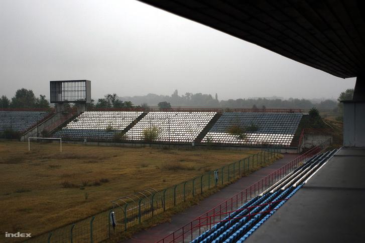 A stadion már nyolc éve, 2009-ben is elég rosszul festett