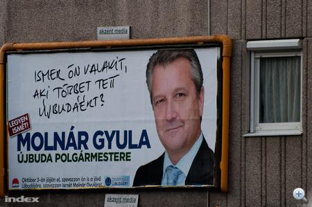 Molnár Gyula, XI. kerületi (Újbuda) polgármesterjelölt