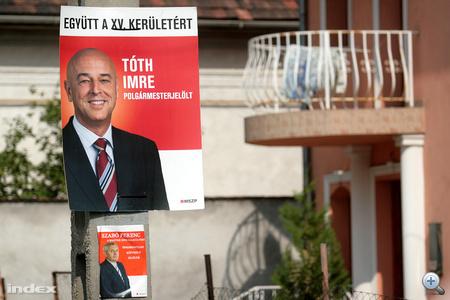 Tóth Imre, XV. kerületi (Rákospalota) polgármesterjelölt
