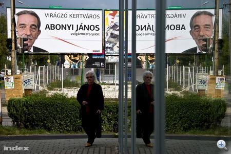 Abonyi János, XVI. kerületi polgármesterjelölt