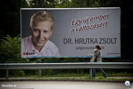 Hrutka Zsolt, XVII. kerületi polgármesterjelölt