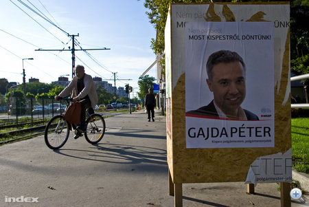Gajda Péter, XIX. kerületi (Kispest) polgármesterjelölt
