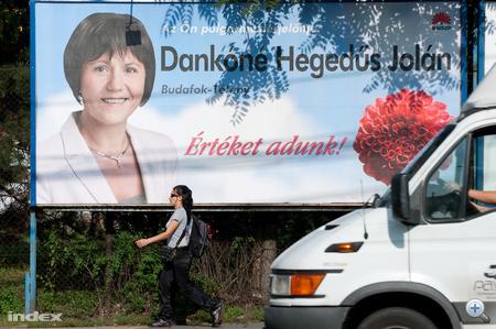 Dankóné Hegedűs Jolán, XXII. kerületi (Budafok-Tétény) polgármesterjelölt