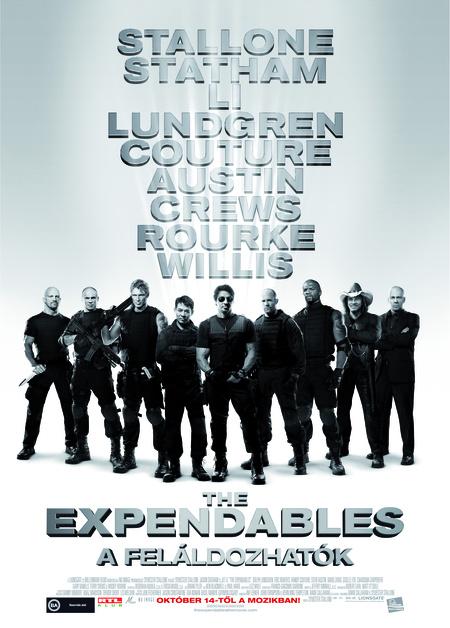the expendables plakat hun