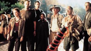 Jeff Goldblum visszatér a dinoszauruszok földjére