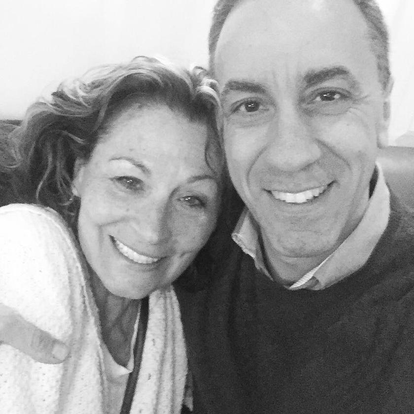 Csonka András, a Família Kft. Picije nemrég véletlenül futott össze a Londonban élő Deborah Kim Javorral.