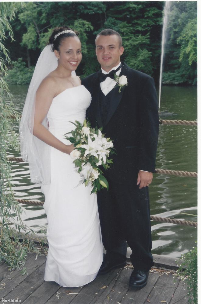 Ez a kép 12 évvel ezelőtt készült, Cristina és Benno Kaiser esküvőjén