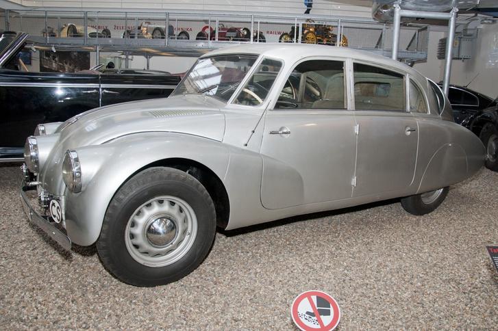 Tatra T87-es a Prágai Műszaki Múzeumban