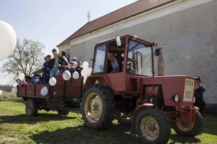 Barta Róbert polgármester a legjobb traktoros a környéken