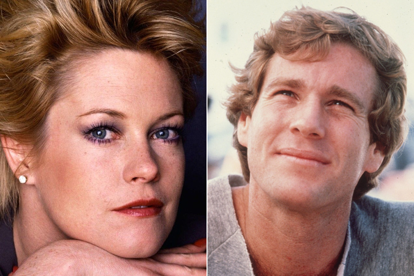 Melanie Griffith és Ryan O'Neal