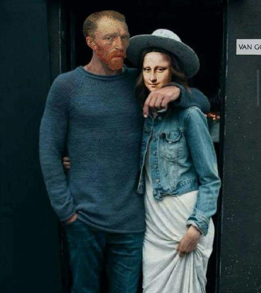 Mona Lisa mosolya nem véletlenül huncut: rögtön a Van Gogh-arcú férfi karjaiban végezte.