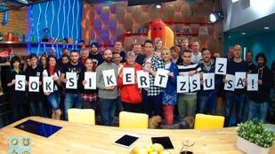 Demcsák Zsuzsának sok sikert kívánnak az RTL-esek