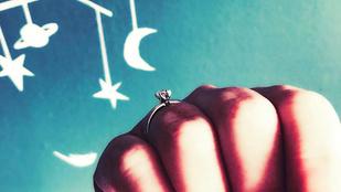 Ezzel a gyűrűvel kérték meg Liptai Claudia kezét
