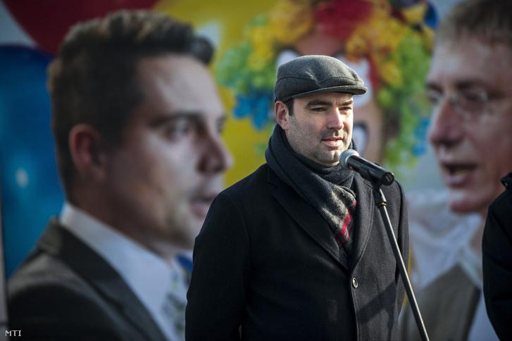 Ifj. Lomnici Zoltán a CÖF szóvivője
