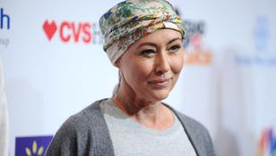 Shannen Doherty jól van és lemészárolja rákbetegségét