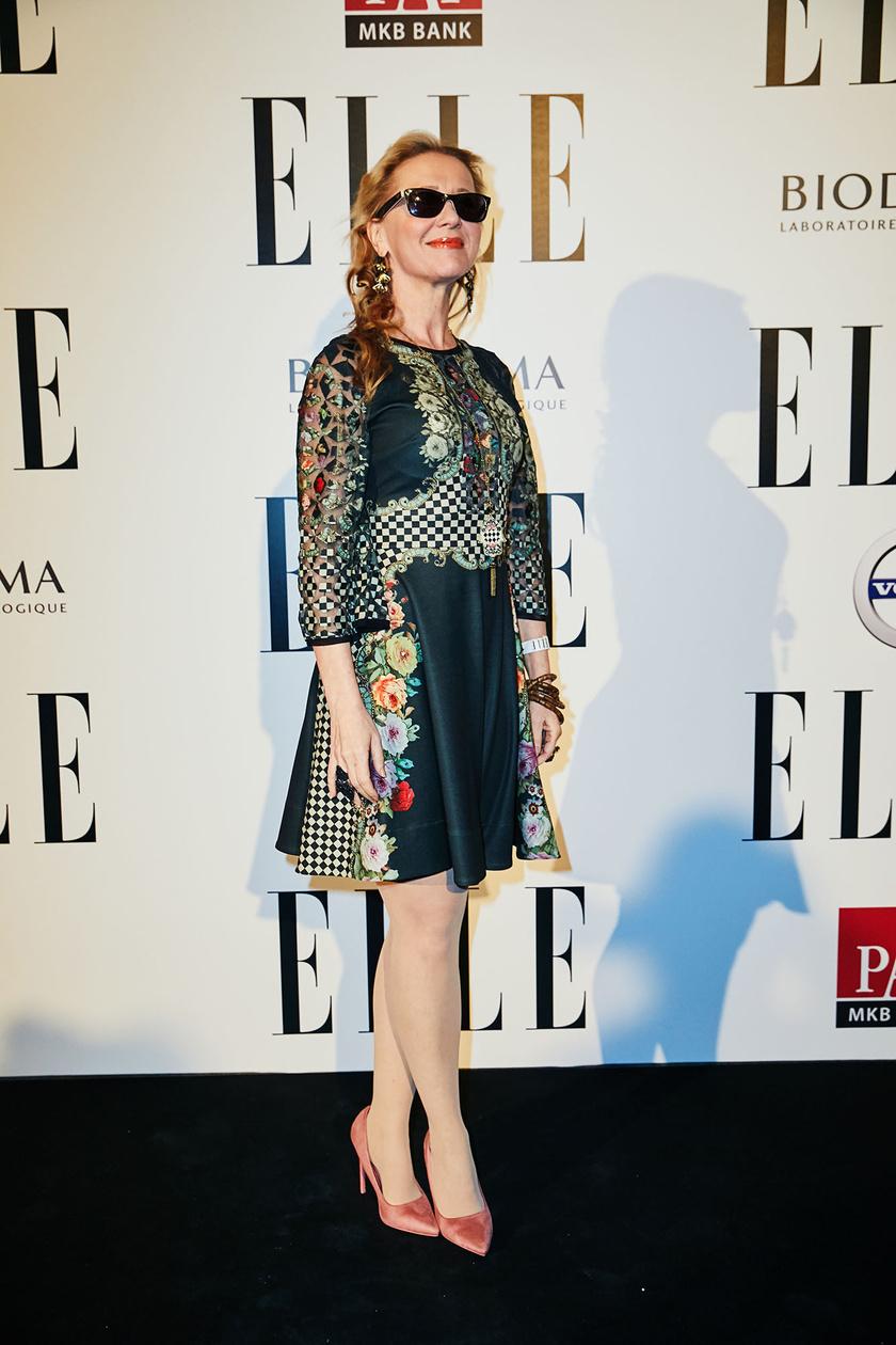 Eszenyi Enikő az 5. Elle Fashion Show megnyitóján.