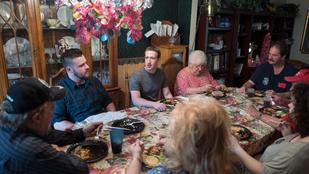 A Facebook atyja meglepett egy családot Ohióban, hogy váratlanul megjelent, és meghívatta magát vacsorára