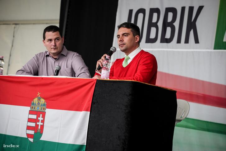 Kisberk Szabolcs és Vona Gábor