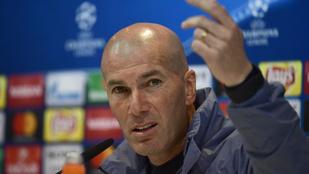 Zidane nem fél és lélektani előnyről sem beszél