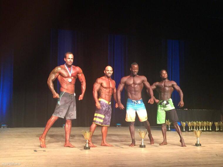 A sportoló nemrégiben a Fort Lauderdale-i OrszágosTestlépítő Bajnokságon harmadik helyezést ért el a férfiak között