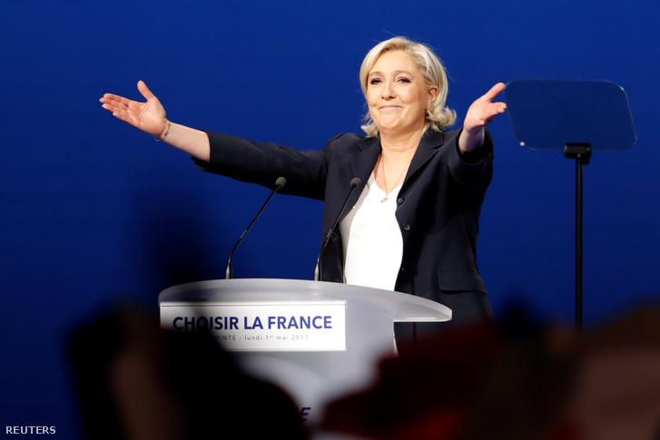 Marine Le Pen május elsejei beszéde után