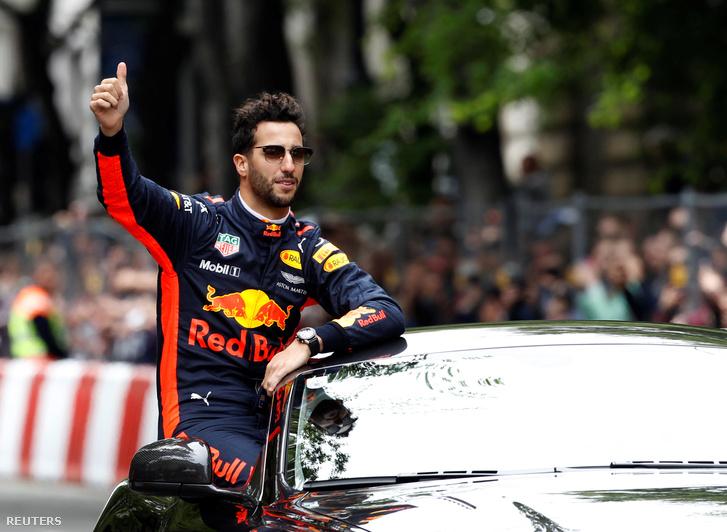 Ricciardo az Andrássyn