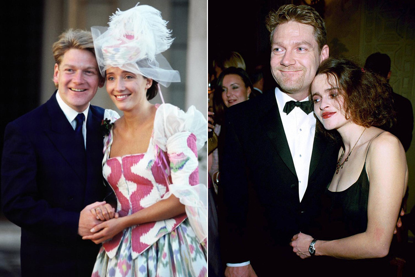 Kenneth Branagh Helena Bonham Carterért vált el Emma Thompsontól
