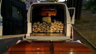 Meglehetősen morbid körülmények között próbáltak átcsempészni 30 kiló drogot a határon